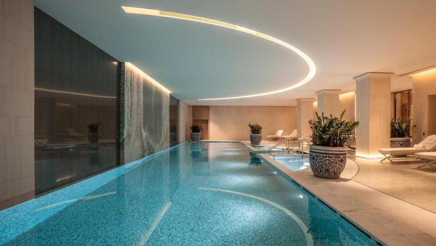 pembuatan kolam renang hotel 2